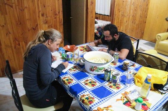 Popparia ja iltapuhteita