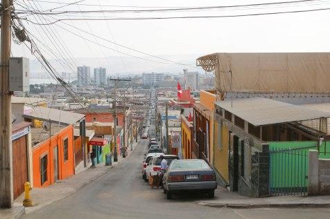 Arican katuja Chilessä
