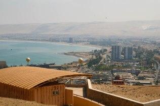 Arican rantaväylää Chilessä