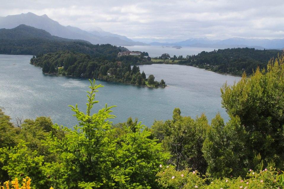 Saaristolaiselämää Barilochen lähistöllä