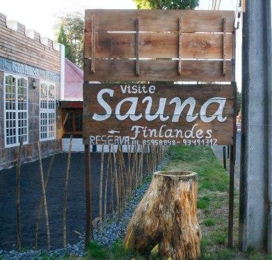Se on sauna!