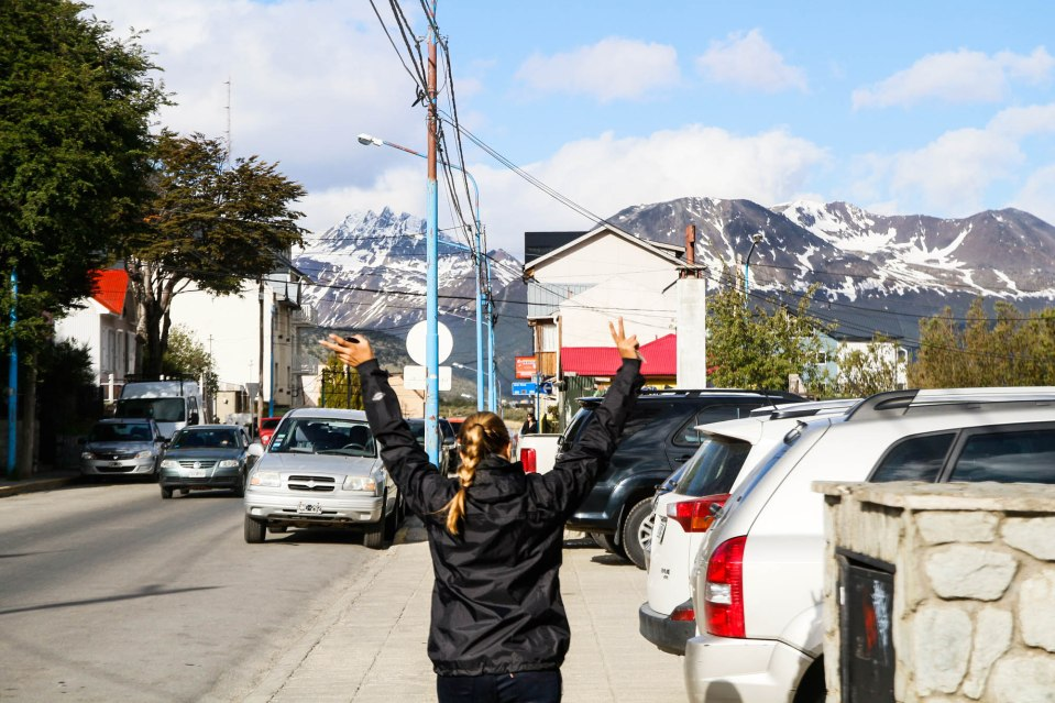 Vihdoinkin Ushuaiassa!