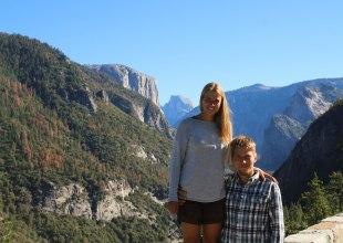 Yosemite laakson reunalla