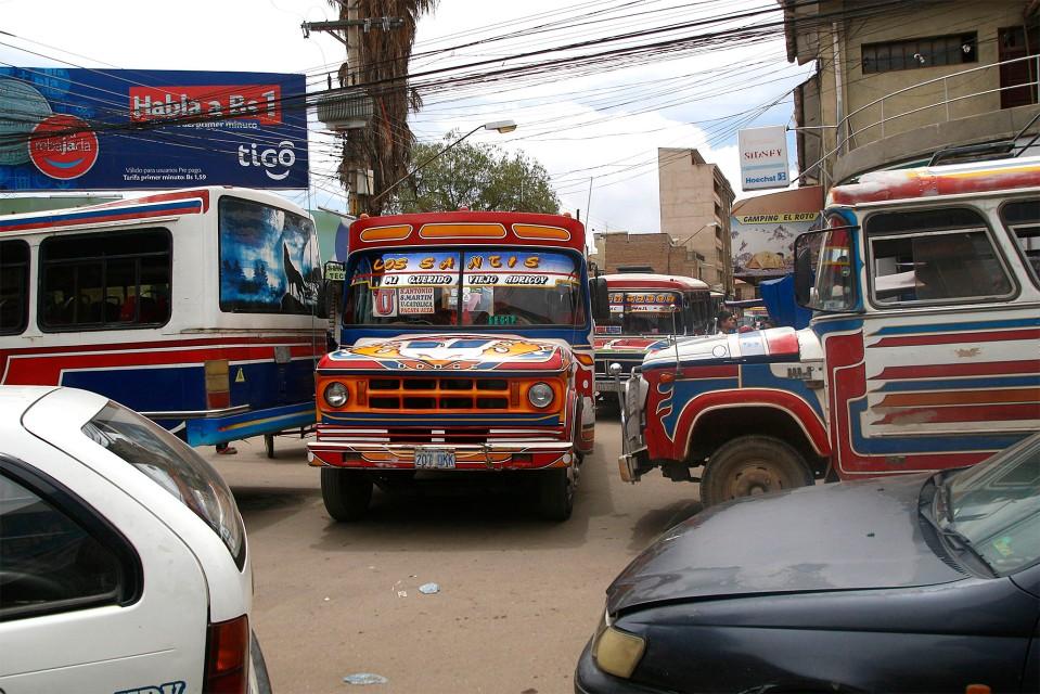 Cochabambalainen bussi