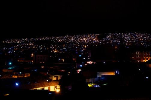 La Paz yöllä