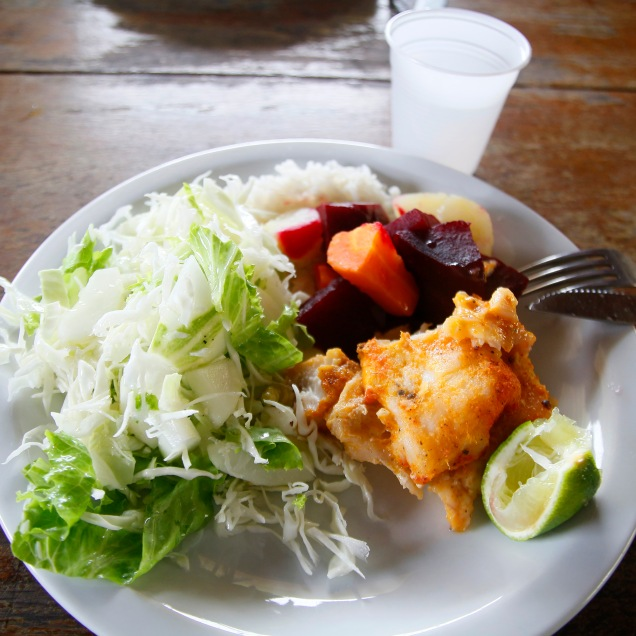 Ruokaa Amatsonilla, Brasilia