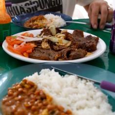 Lihaa ja riisiä, Brasilia