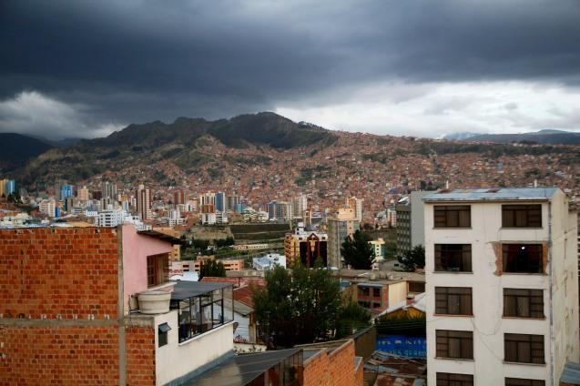 Kaupungin rakennuskantaa