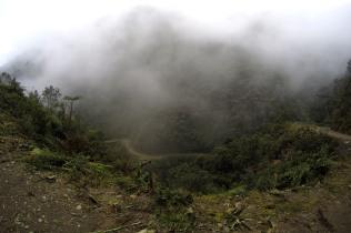 Sumuisten vuorten pyöräilijät