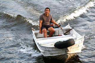 Pikkuveneessä