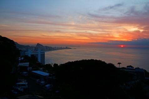Näihin tunnelmiin jäi Rio