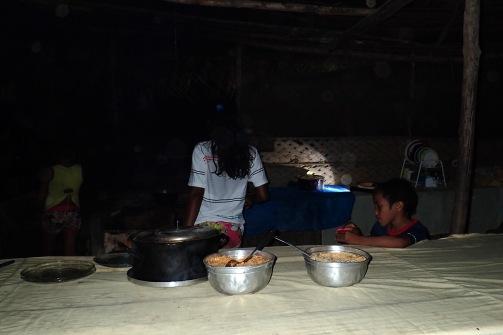 Illallispöydässä
