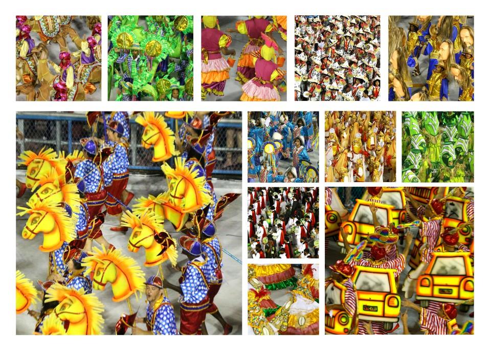 Karnevaalien värilostoa