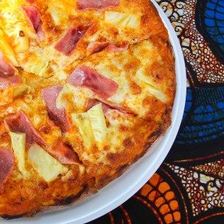 Hyvää pizzaa! Tanzania