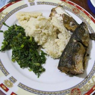 Ugalia ja kalaa, Tanzania
