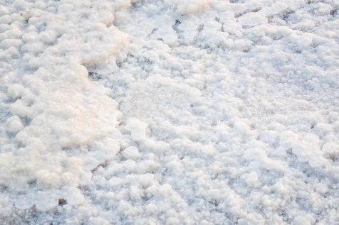 Suolaa vai lunta?