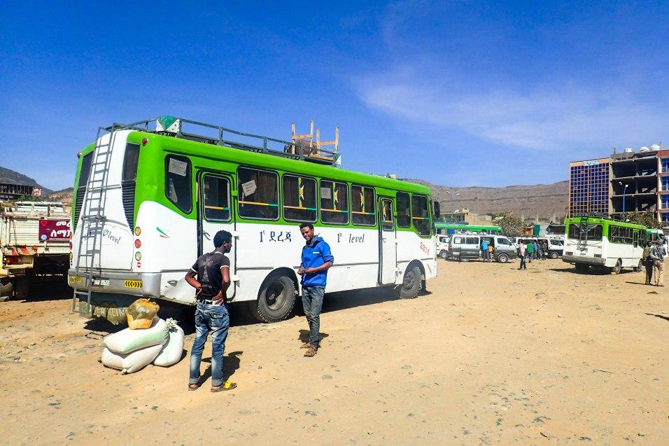 Bussiasemalla